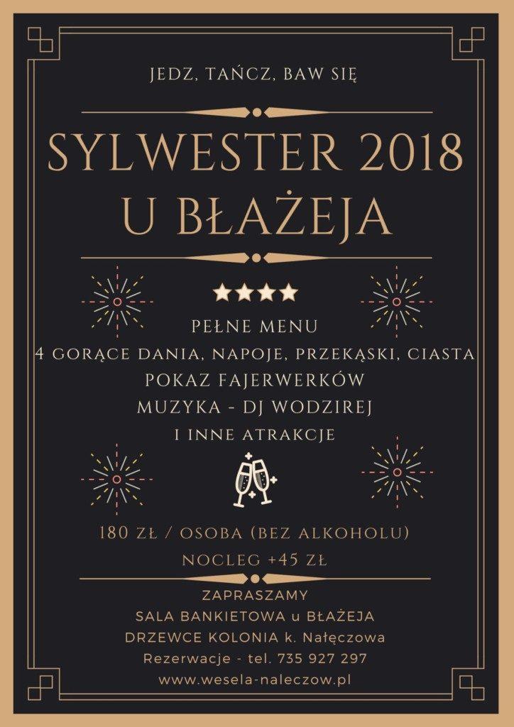 Sylwester u Błażeja - Kolonia Drzewce - Nałęczów